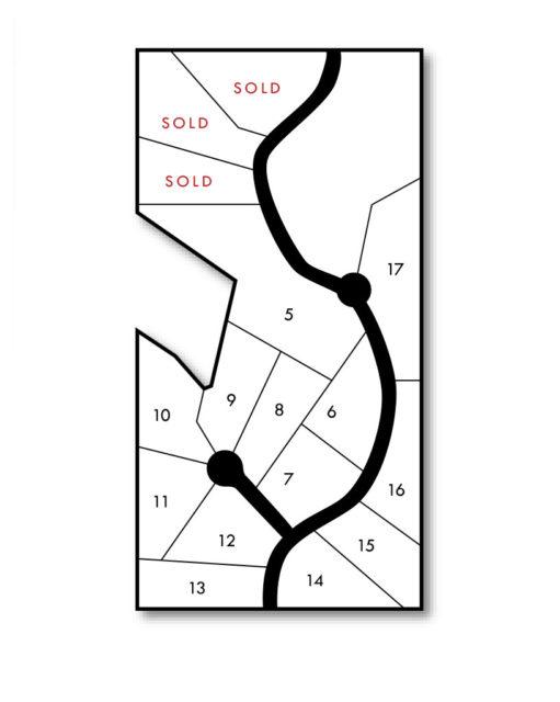 Chapman Acres map