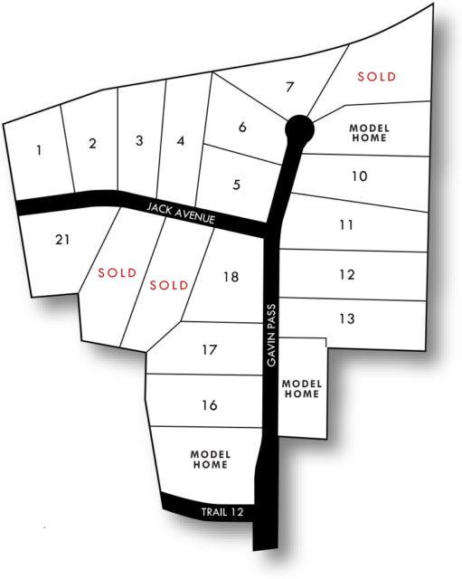 Hunter Hills map
